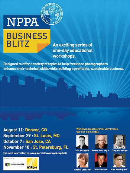 NPPA Workshops - The Business of Photography